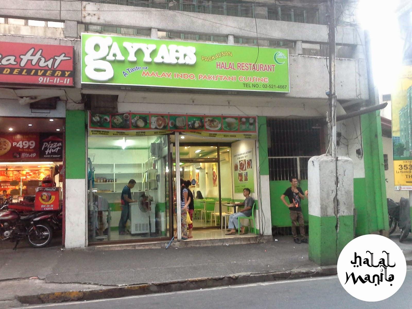 Gayyah Halal Food Manila Mabini