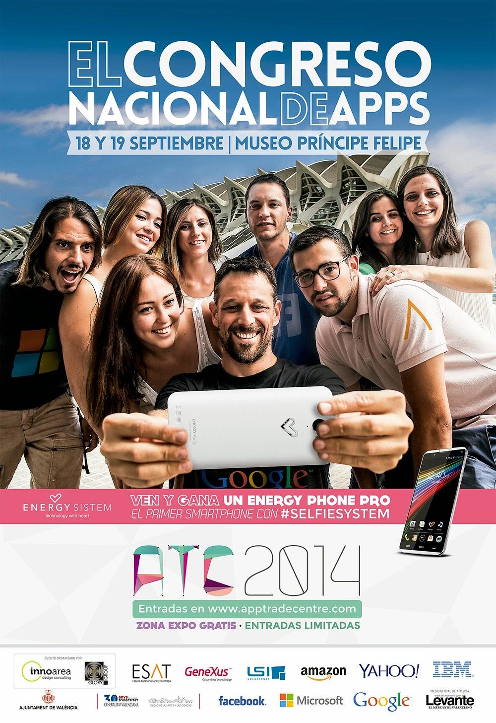 El 18 y 19 de Septiembre no puedes perderte el App Trade Center en Valencia.