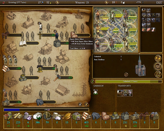Civilization 4 Colonization - Clothes Colony Screenshot
