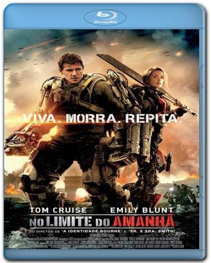 No Limite do Amanha AVI BDRip Dual Audio + BRRip + Bluray 720p e 1080p + 3D