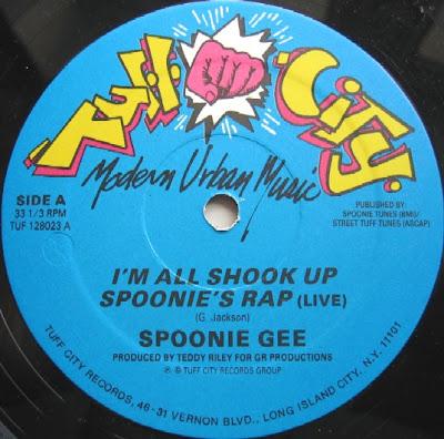 Spoonie Gee – I'm All Shook Up / Spoonie's Rap (Live) (VLS) (1987) (256 kbps)