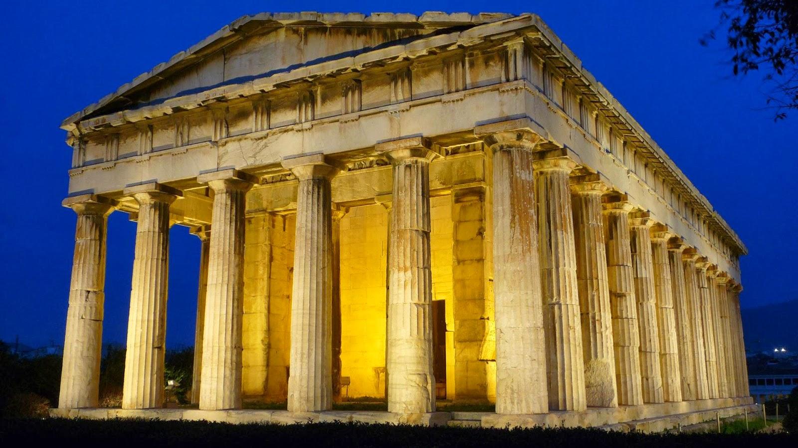 manifestaciones pl sticas de grecia y roma arquitectura