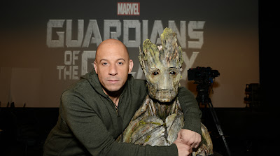 Vin Diesel Has Been Cast As The Voice Of Groot in Marvel's Guardians of the Galaxy Live Action Film