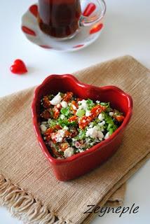 Kahvaltılılık Lor Peyniri Salatası
