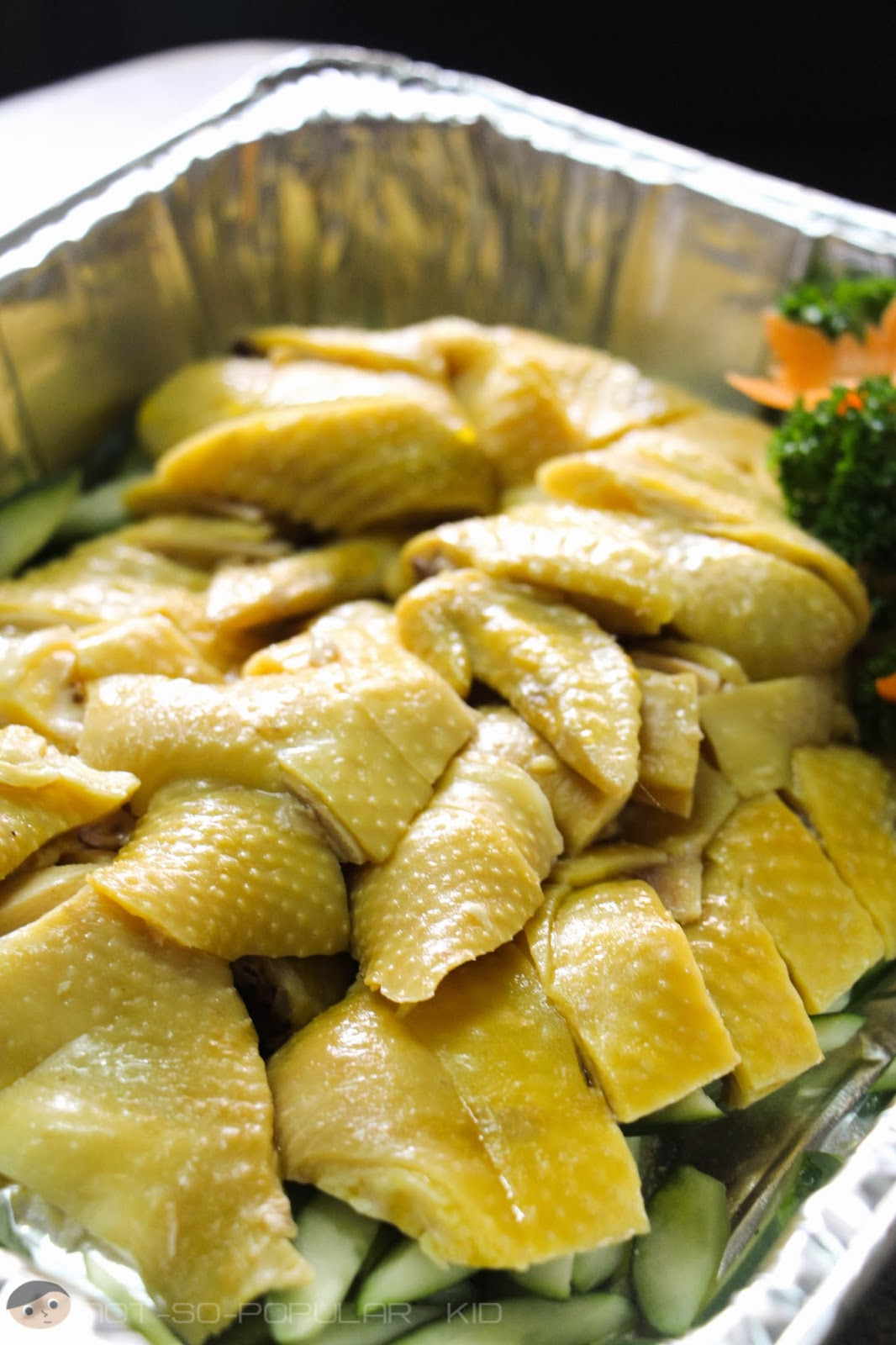 A closer look - Hainanese Chicken of Wee Nam Kee