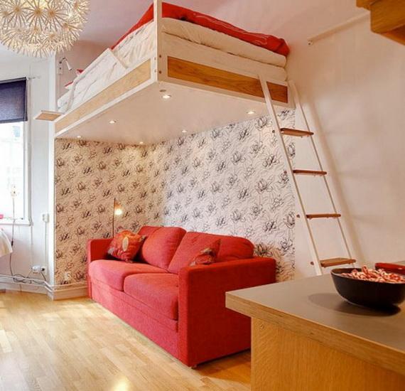Deco chambre interieur seulement 21 m tre carr for Chambre 8 m carre