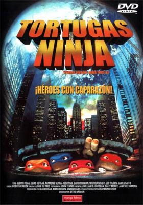 Las Tortugas Ninja 1-2-3-4  DVDRIP LATINO