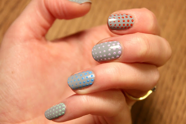 dotty nail art
