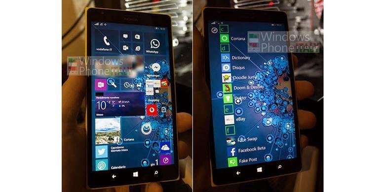 Inikah Tampilan Windows 10 untuk Ponsel?