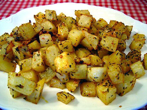 ... Loss Diet Recipes: Spicy Roasted Potatoes recipe – 177 calories