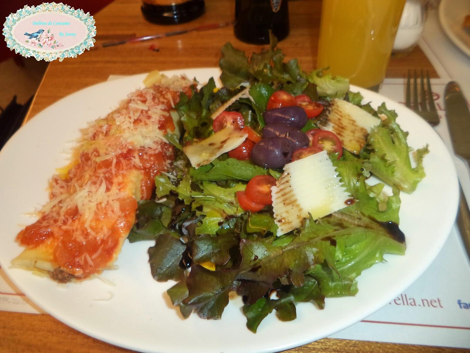 Saborella, panqueca, salada, delicious, fresh, food, blog Delírios de Consumo