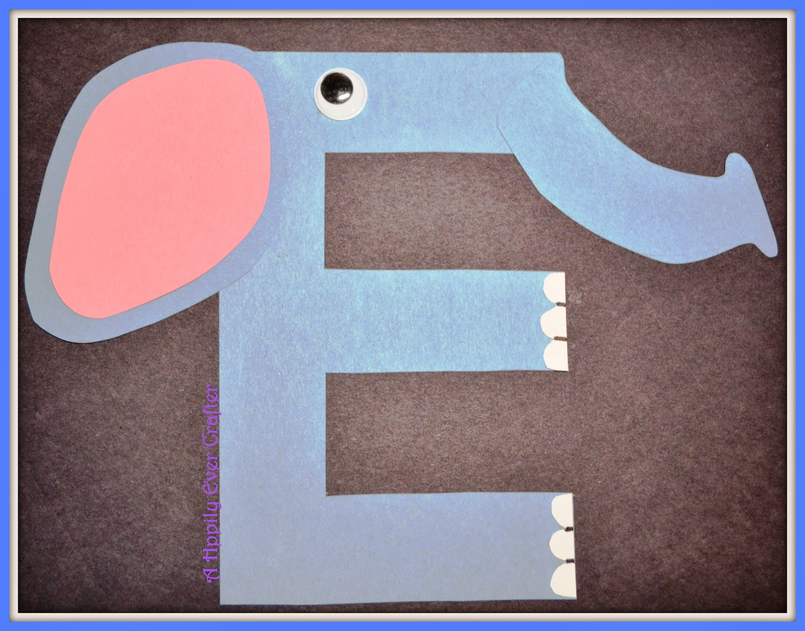 A happily ever crafter crafting our way through the alphabet for E crafts for preschoolers
