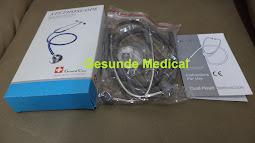 cara pakai stetoskop