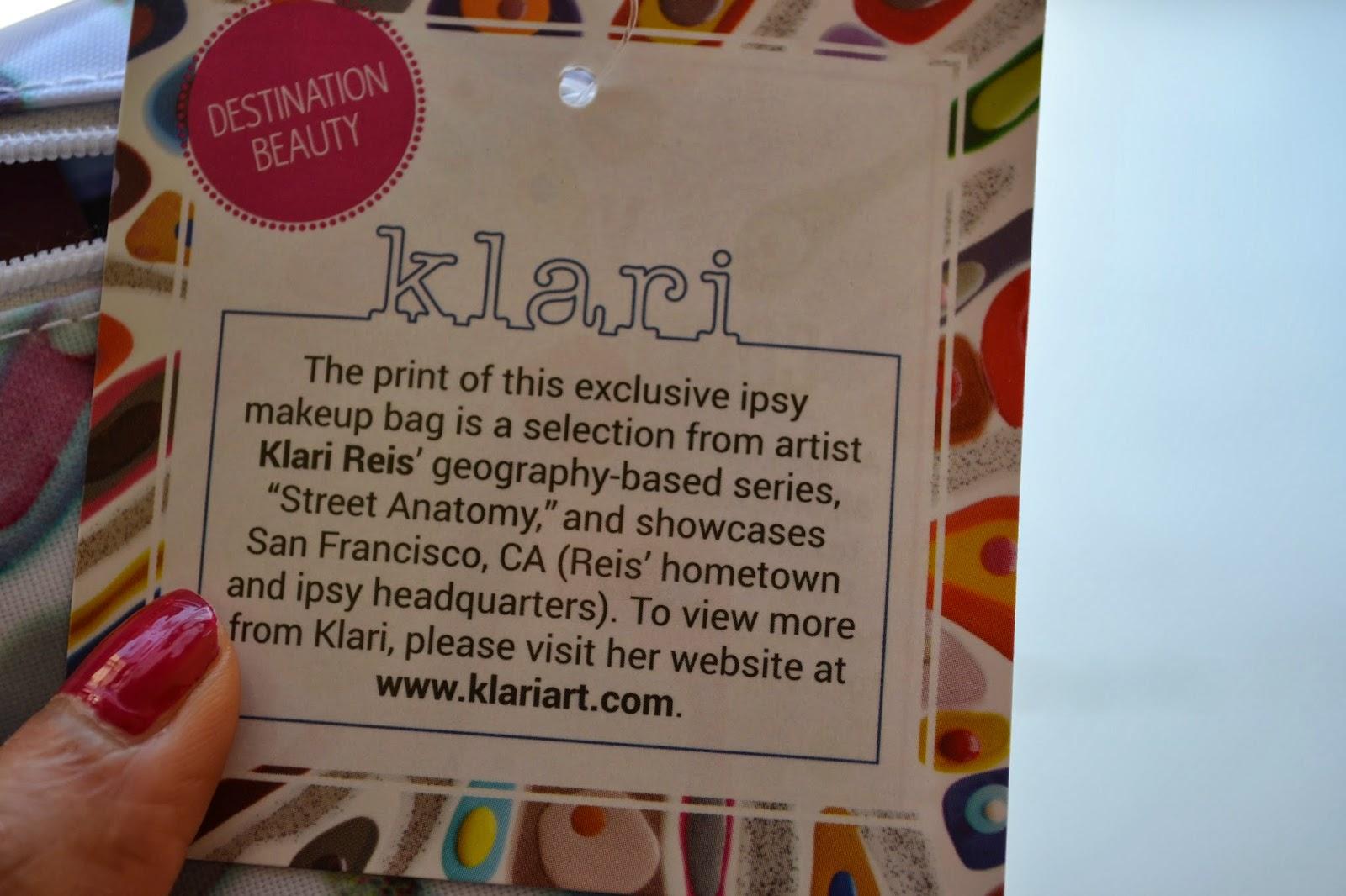 March 2014 Ipsy Glam Bag
