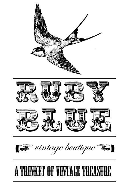 .ruby blue.