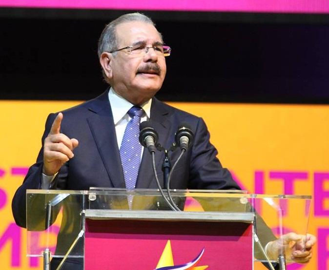 Discurso completo-Video- Danilo Medina, acto lanzamiento candidato presidencial PLD