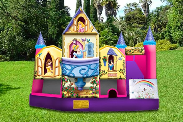 Juego inflable Castillo Princesas lima peru