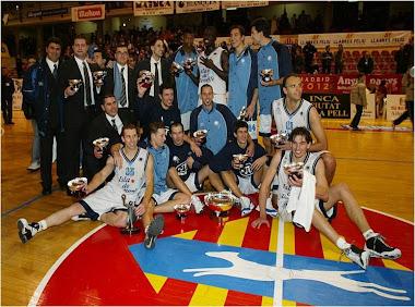 Unelco Tenerife. Campeones Copa del Principe'2003