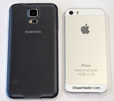 Samsung Galaxy S5 vs Apple iPhone 5S ( Video Comparison )