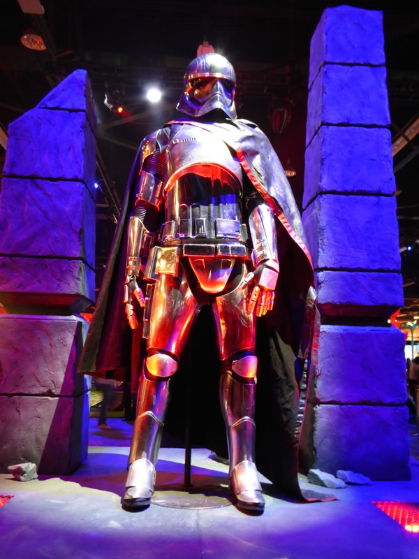 Star Wars The Force Awakens Captain Phasma costume