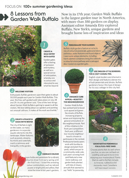 ArtofGardening.org: Eight ideas from Garden Walk Buffalo in ...
