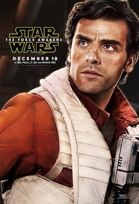 Star Wars: The Force Awakens Character Movie Posters – Oscar Isaac as Poe Dameron