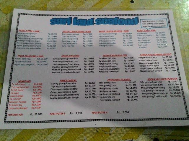 Tempat Makan Seafood Murah di Bandung