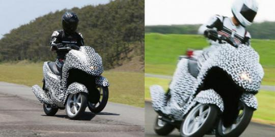 Yamaha akan meluncurkan motor tiga roda