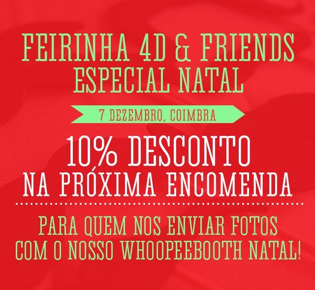 Feirinha Mães e Filhos 4D & Friends www.chapeudepapel.com