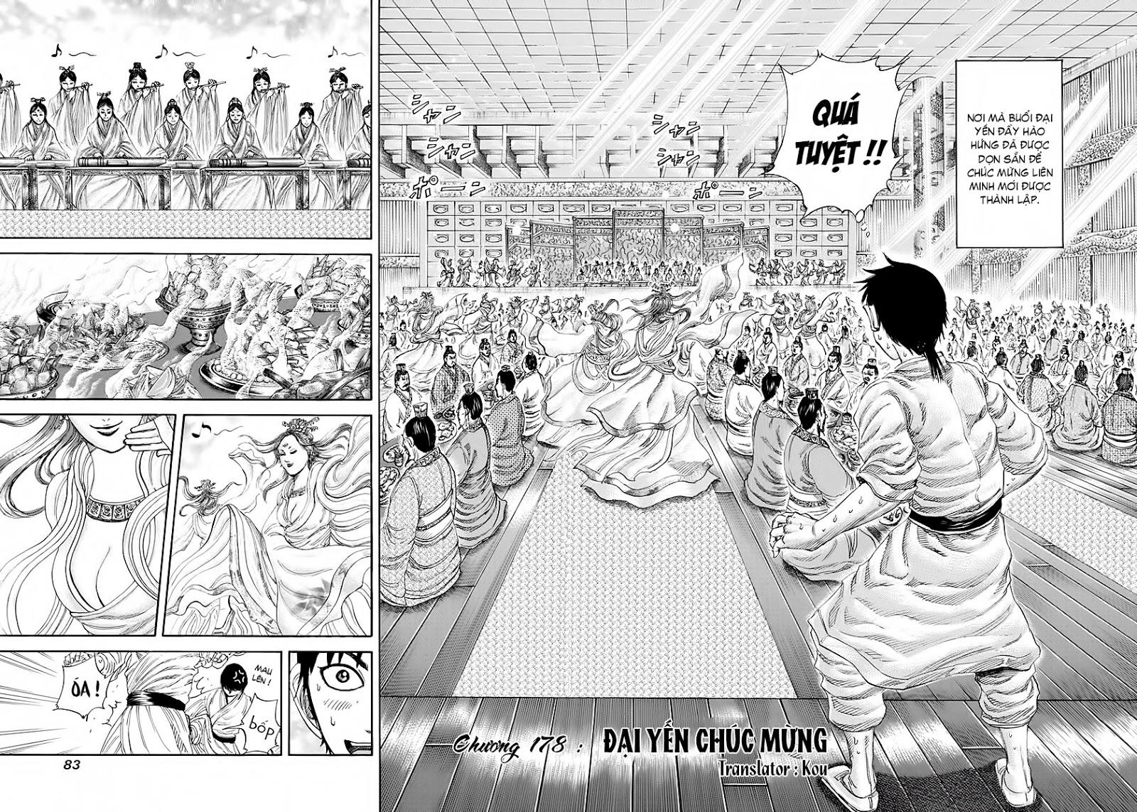Kingdom - Vương Giả Thiên Hạ Chapter 178 page 3 - IZTruyenTranh.com