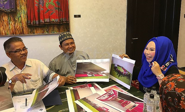 Dato' Seri Vida Dedah Gambar Stadium Pink Kelantan