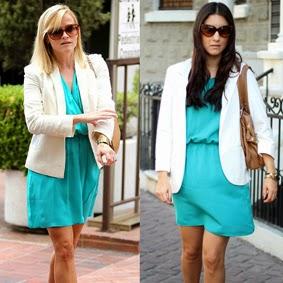 Reese Whiterspoon Acqua Dress