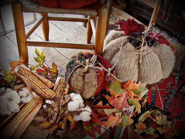 alt=&quot;fall decor and sweater pumpkins&quot;