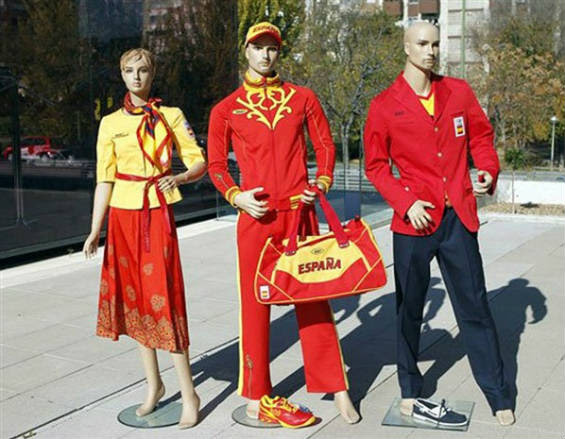 Spain olympic sailing team uniform
