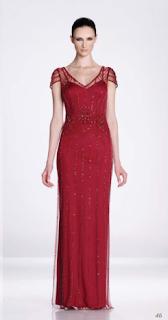 vestido rojo largo katy