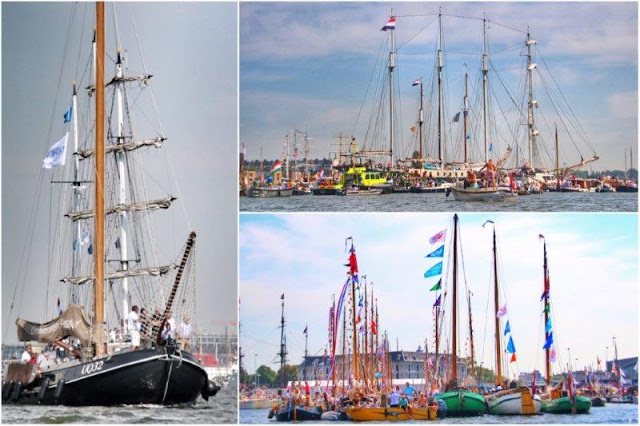UQ32 Veleros en Sail Amsterdam 2015