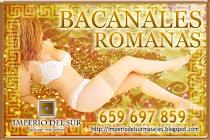 Bacanales y Fiestas Romanas