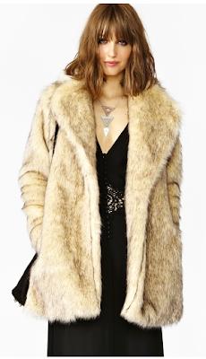 Cruella Faux Fur Coat MINKPINK
