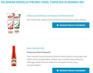 Info Sampel - Sampel Gratis Lifebuoy CliniShield 10 Shower Gel Konsentrat dan Sasa Sambal Asli
