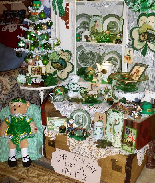 St, Patrick's Day Tree and Decorations, Part 2, 2018