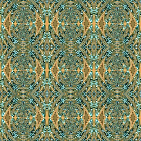 Terry Long Designs Victoria Design In Olive Green Yellow