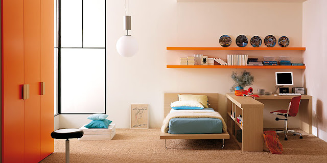 decorating-a-teen-room-with-orange-by-clever