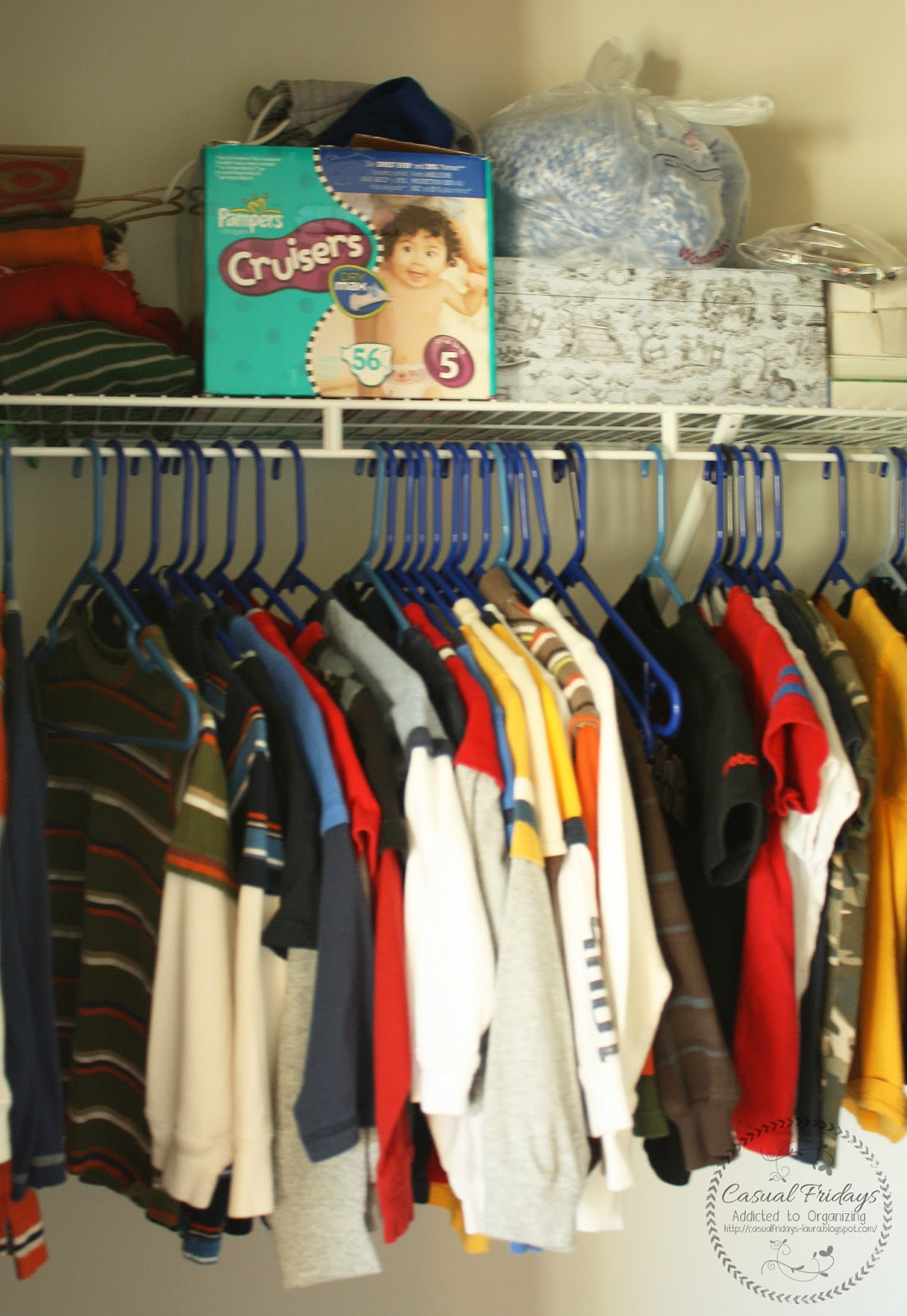 Casual Fridays: Organizing the Boys Closet - Preview