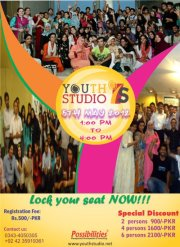Youth Studio by Possibilities, Trainings, Training in Lahore Pakistan, Youth Studio in Peshawar by Qaiser Abbas