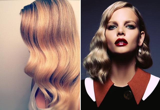 Как сделать волны на волосах в стиле ретро 168