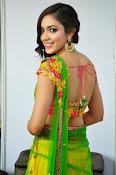 Reetu varma sizzling in half saree-thumbnail-14