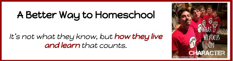 {A Better Way to Homeschool}