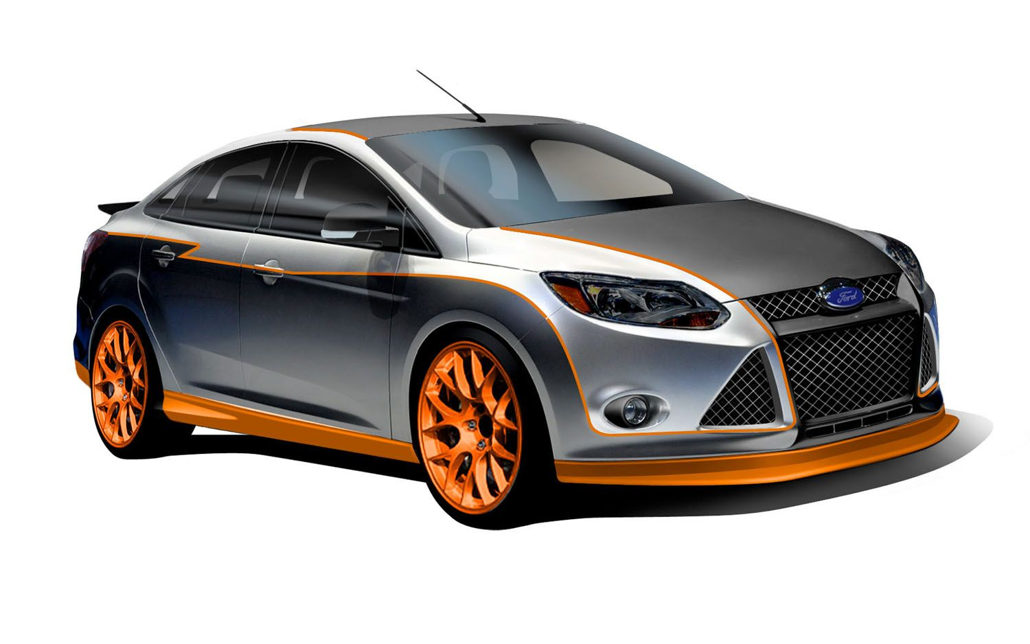 Autos im genes axel ford focus by capaldi racing 2012 for 2012 ford focus exterior accessories