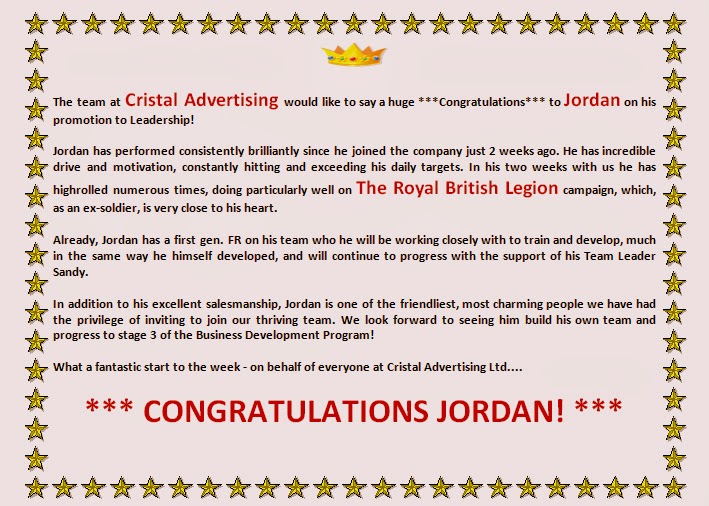 Cristal Advertising Ltd: Winners are Grinners ...