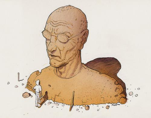 Autorretrato - Moebius